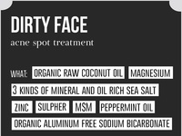 Dirty Face Packaging