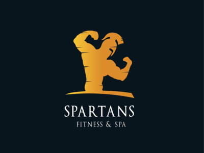 Spartans fitness & spa logo