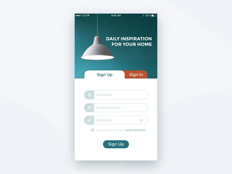 Daily UI Challenge #001 | Sign up signup page design signup daily vector dailyuichallenge dailyui 001 dailyui