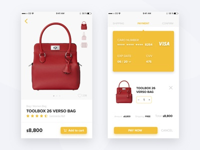Daily UI Challenge #002 | Checkout