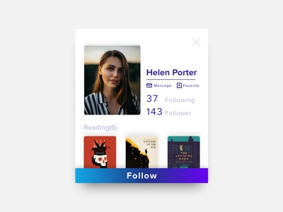 Daily UI Challenge #006 | User Profile dailyuichallenge dailyui006 dailyui userprofile ui adobexd
