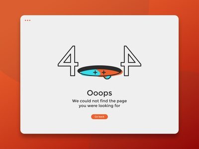 Daily UI Challenge #008 | 404 Page