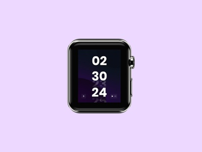 Day #014 | Countdown Timer vector apple watch timer dailyui014 dailyuichallenge dailyui