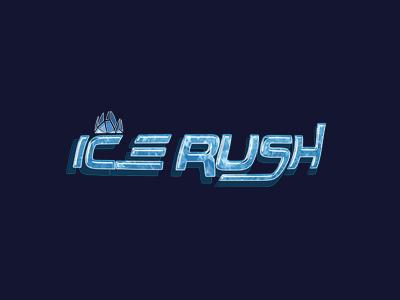 Ice Rush Game Logo