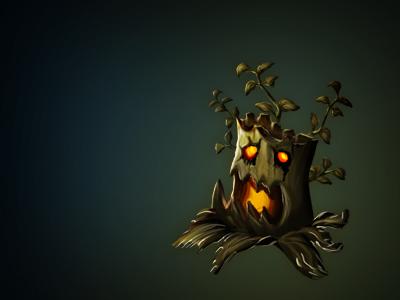 Isometric Horror Tree