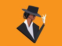 Micheal Jackson illustration