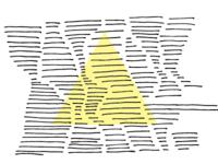 Line over shape 2