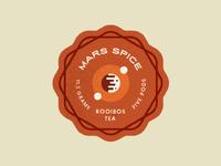 Mars Spice Sticker