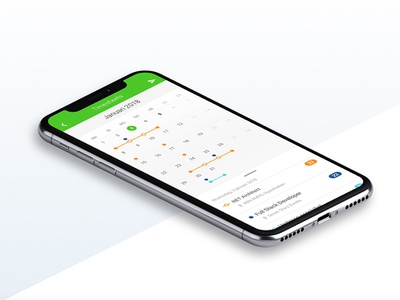 Startime Calendar App ios android branding app ux ui design