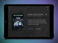 TV App - Daily UI challenge