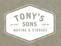 Tony's Sons Moving & Storage