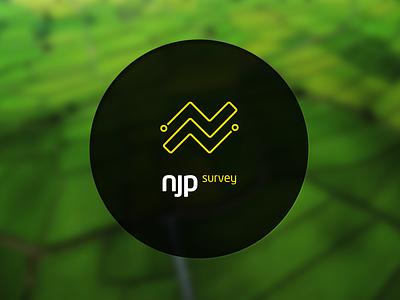 NJP Survey Brand njp brand logo survey n logotype