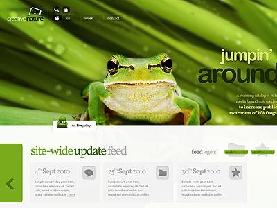 Old stuff: An unused WP theme wordpress cnc frog jumpin pullup feed portfolio