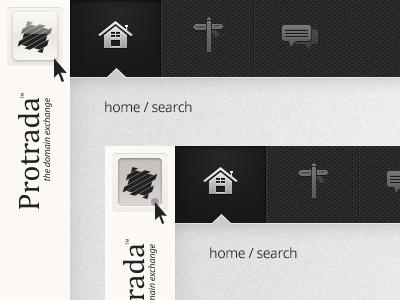 Spine Hover / Click UI Details hover click detail protrada app bar spine