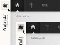 Spine Hover / Click UI Details