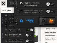 V3 - System menu UI Work