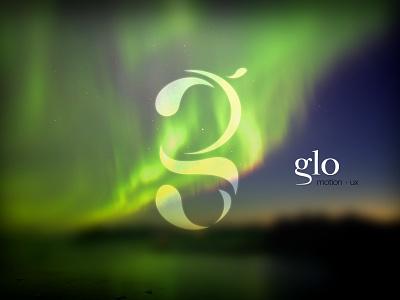 refining monotone form monotone glo aurora northern lights logo
