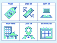 Land/Property Icon Set 1