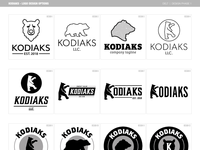Kodiaks - Logo Design | Phase 1