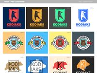 Kodiaks - Logo Design | Phase 2