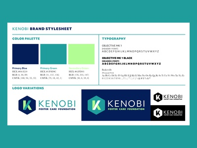 Kenobi Foundation - Brand Stylesheet