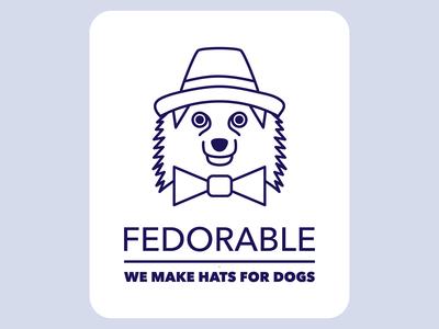 Fedorable - Logo Design Concept