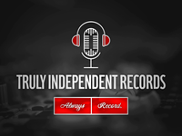 Truly Independent Records - Logo Variations