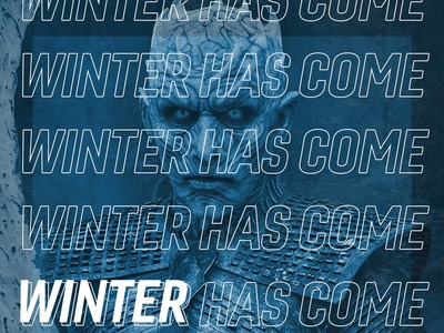 "Game of Thrones - ""Winter Has Come"" Posters"