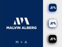 Malvin Alberg (MA Monogram)