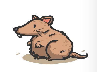 Rats! illustration cartoon vector animal rat