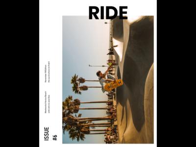 Ride Magazine swiss magazine visual art typographic typography swiss poster poster design posters poster multilingual graphic design webdesign
