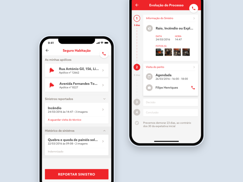 Insurance App Concept ui ux concept ios ui design insurance