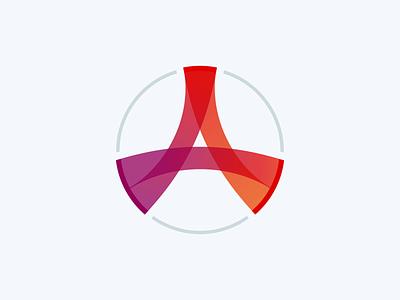 Aura logo identity design logo branding