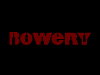 BOWERY logotype
