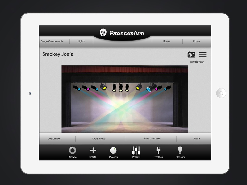Proscenium- Stage View by Tember Hopkins on Dribbble
