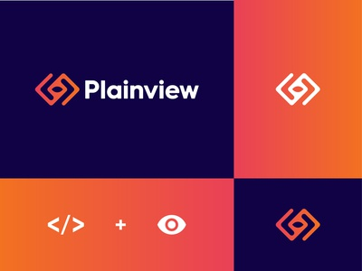 Plainview logo design
