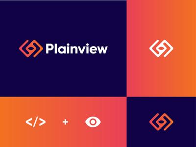 Plainview logo design