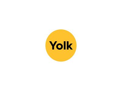 Yolk logo design symbol experiment illustration branding designer design logo