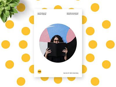 Poster Design for Yolk poster design branding brand identity brand design