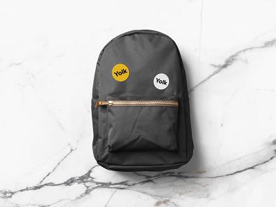 Badge application for Yolk. design logo branding and identity branding agency brand identity brand design branding