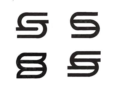 Starun logo concept exploration mark experiment letter s logo letter s designer design logo sketches logo exploration