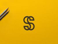 ss logo design concept