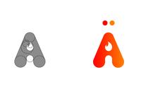 A+🔥 logo concept