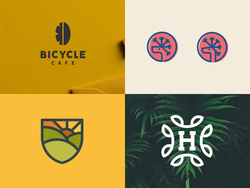 top 4 shots of 2018 top4shots illustration branding designer design logo