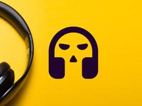 Headphone+skull