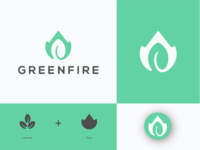 Greenfire logo concept.