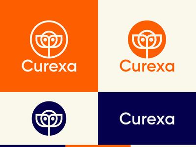 Curexa logo.