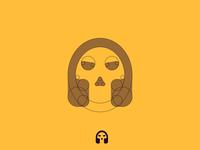 Music skull grids