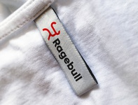 Ragebull T-Shirt Collar Tag Label