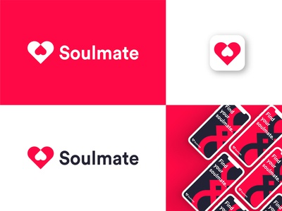 Brand identity for Soulmate App.